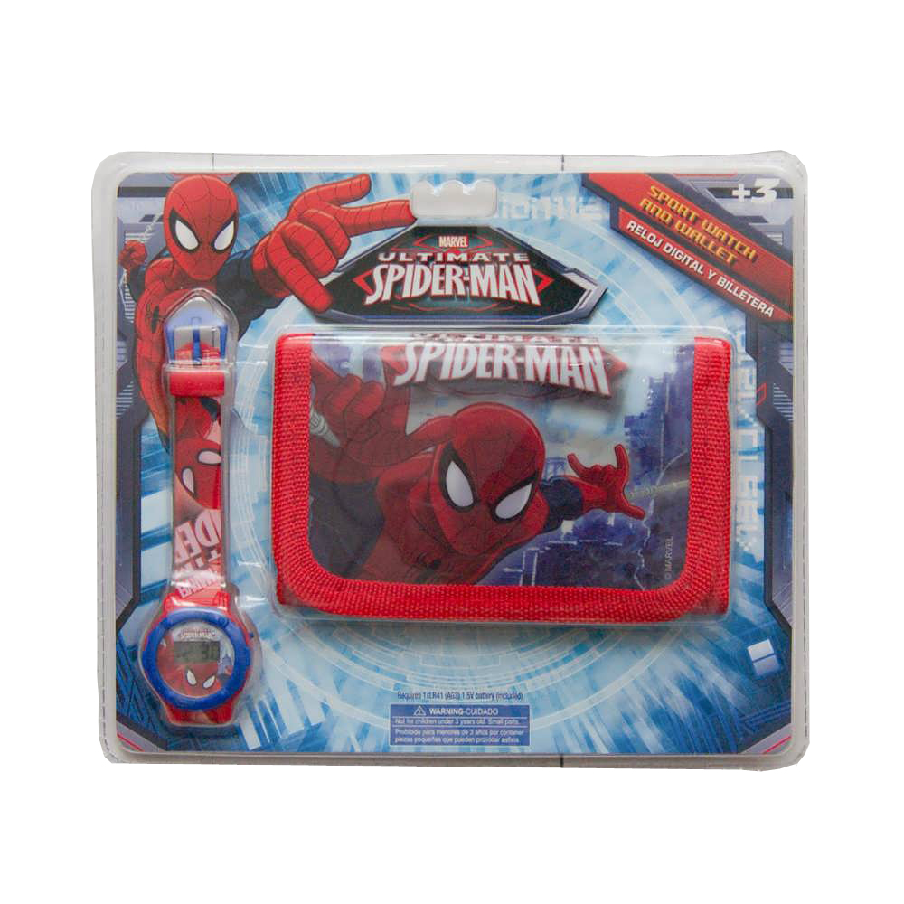 Set Ceas Si Portofel Spiderman