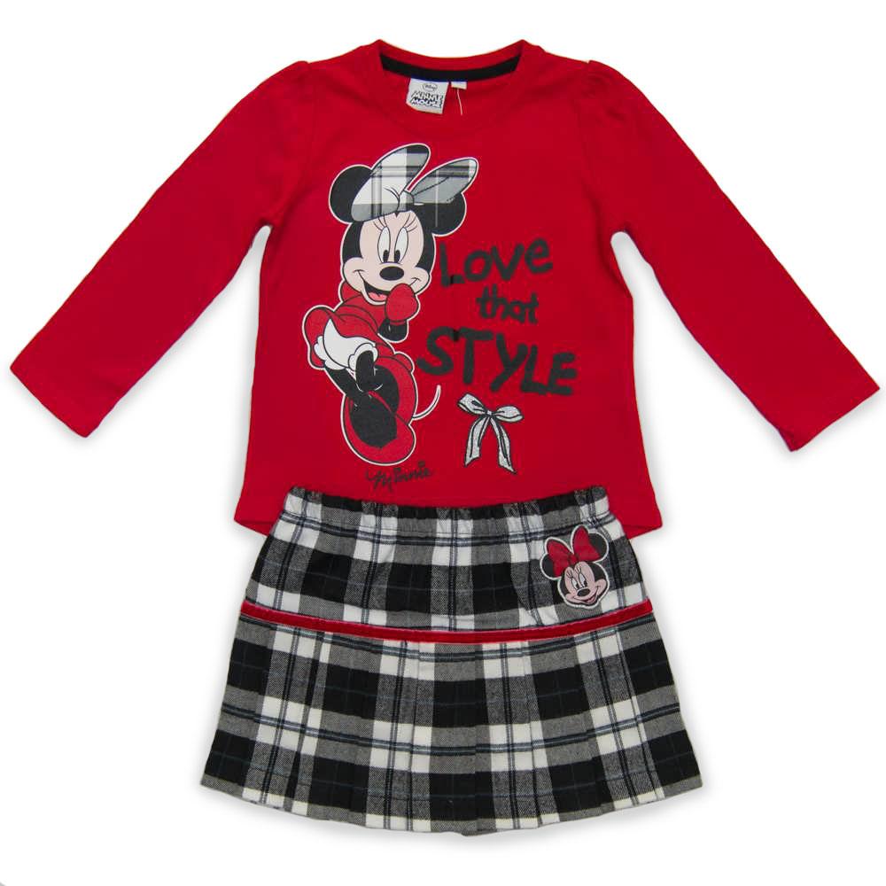 Set Bluza Si Fusta Disney Minnie Mouse