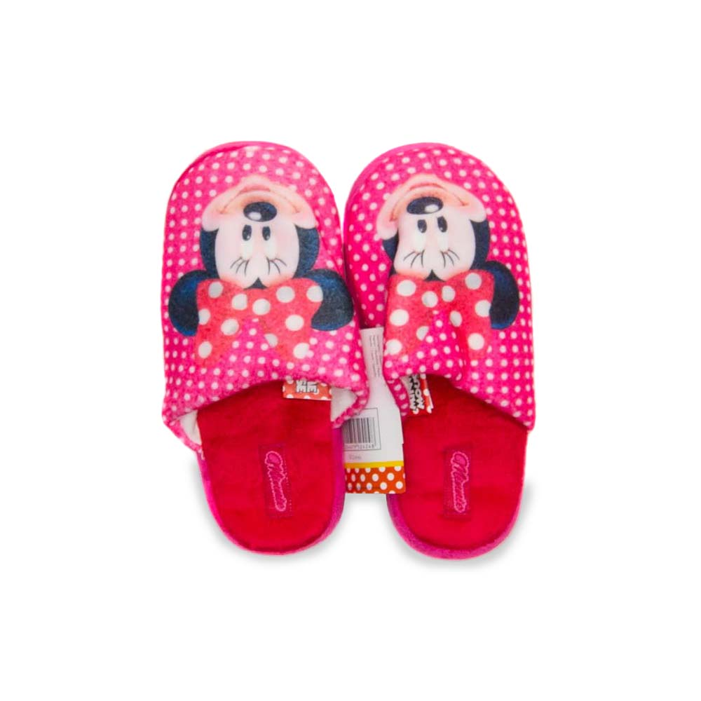 Papuci De Casa Minnie Mouse imagine