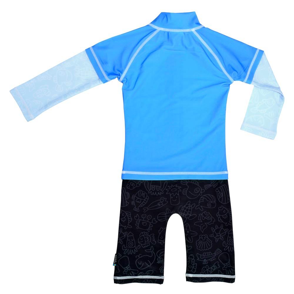 Costum De Baie Blue Ocean Marime 98- 104 Protectie Uv Swimpy