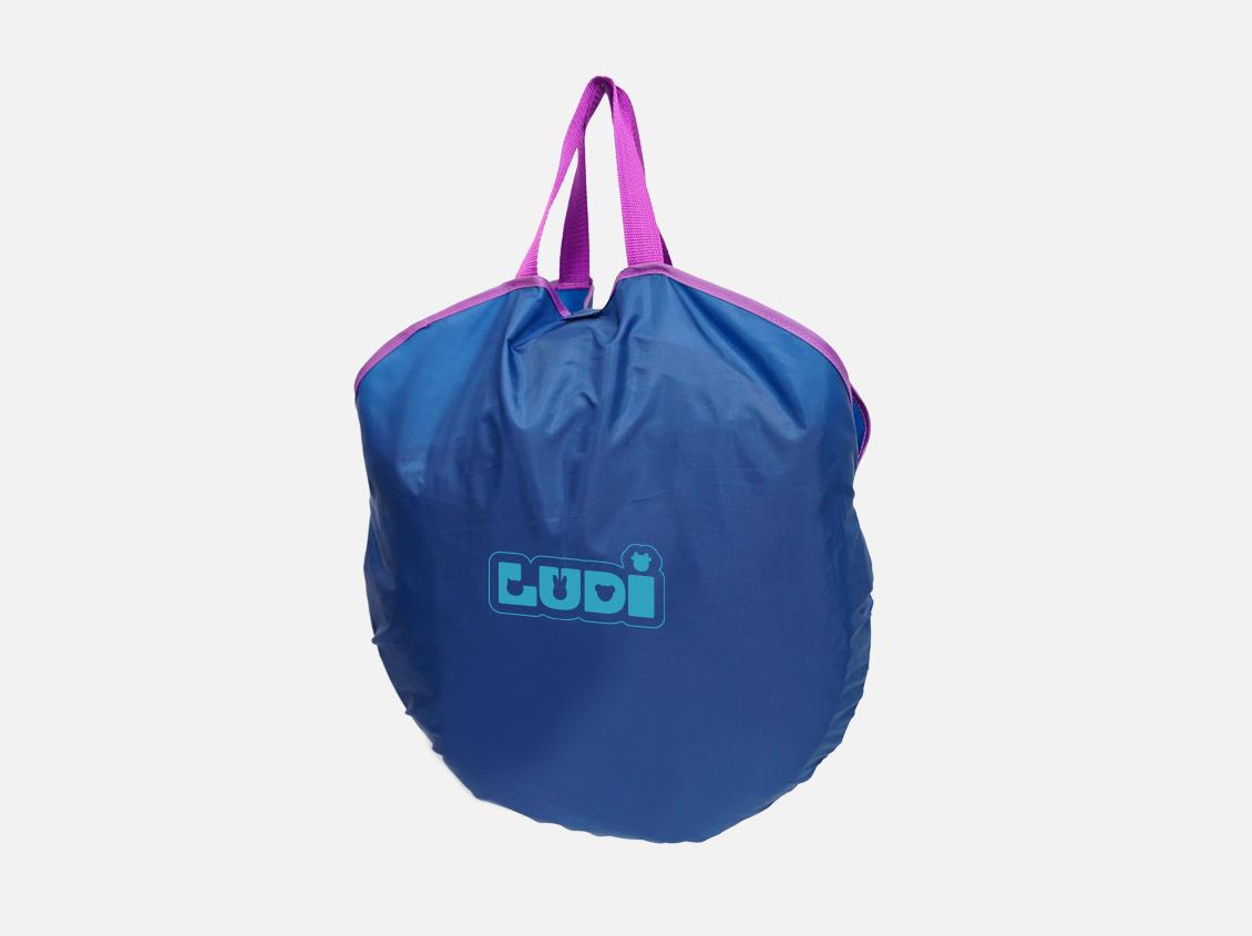 Ludi Cort Uv Pop-up De Calatorie Bleu