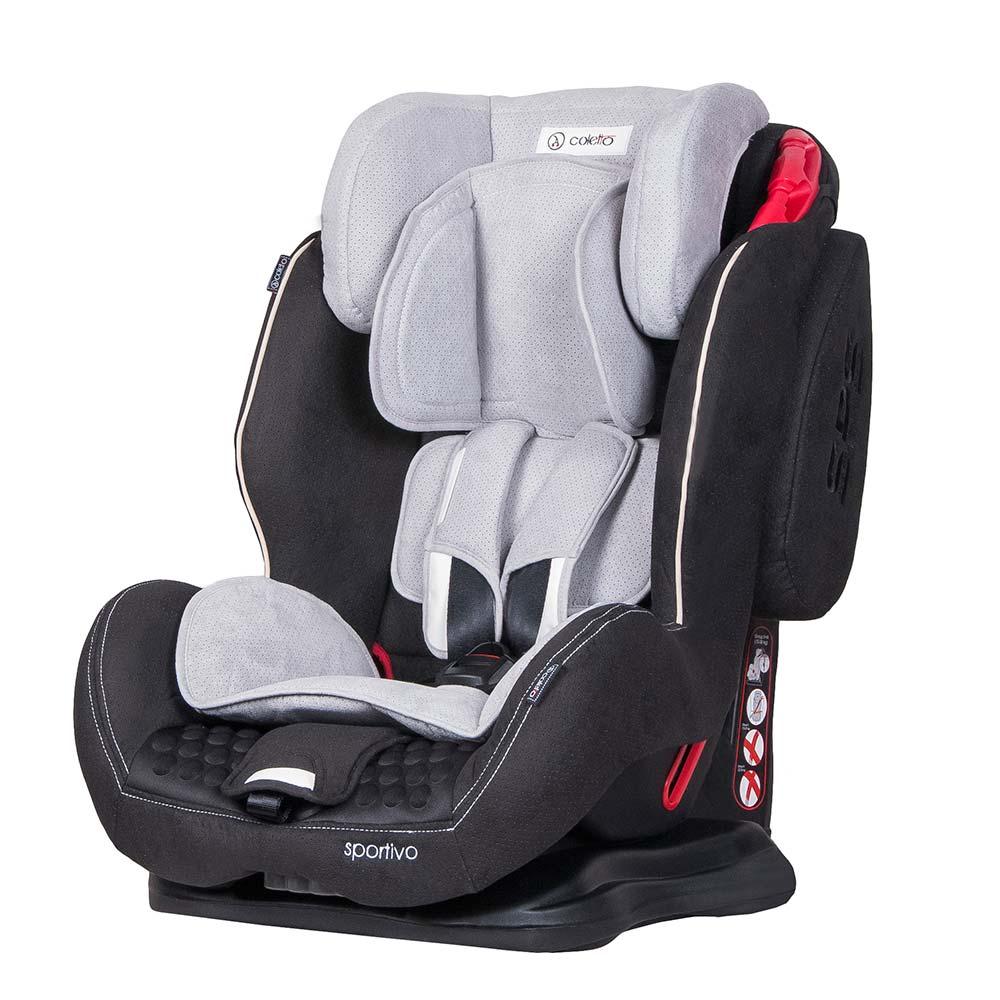 Scaun Auto Sportivo Black Coletto