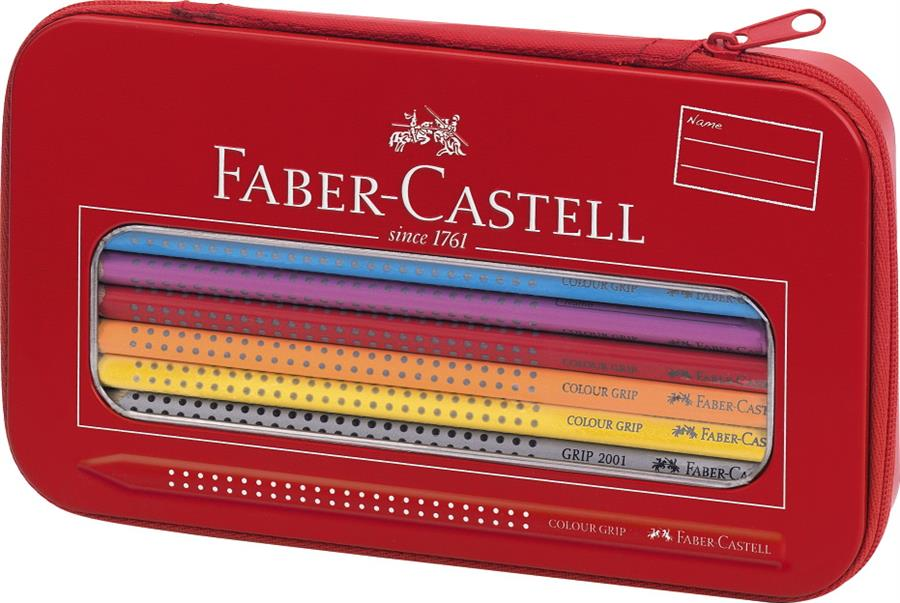 Set Cadou Desen Si Pictura Colour Grip Faber-castell