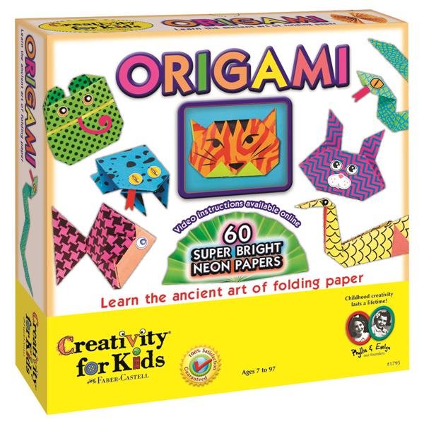 Set Creativity Neon Origami