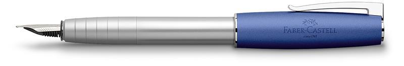 Stilou Loom Metalic Albastru Faber-castell imagine