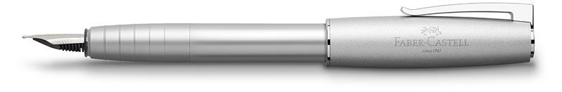 Stilou Loom Metalic Argintiu Faber-castell imagine