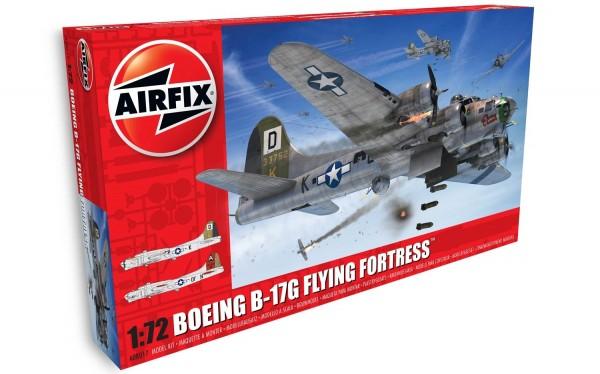 Kit Constructie Airfix Boeing B-17g Flying Fortress Scara 1:72 imagine