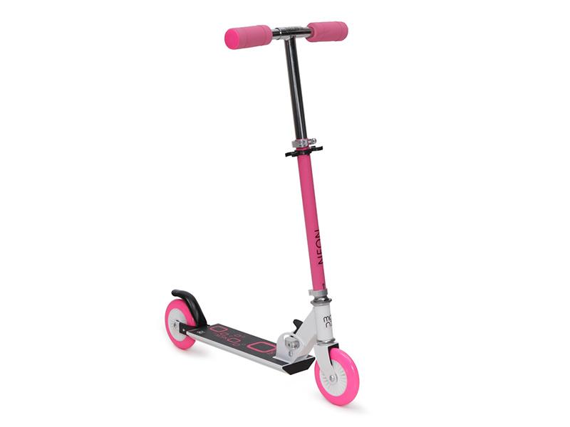 Trotineta Copii Moni Neon Roz