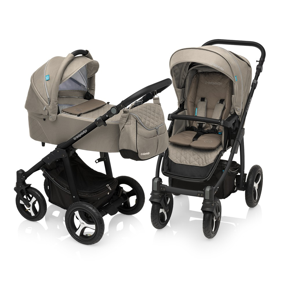 Baby Design Lupo Comfort 09 Beige 2017 - Carucior Multifunctional 2in1
