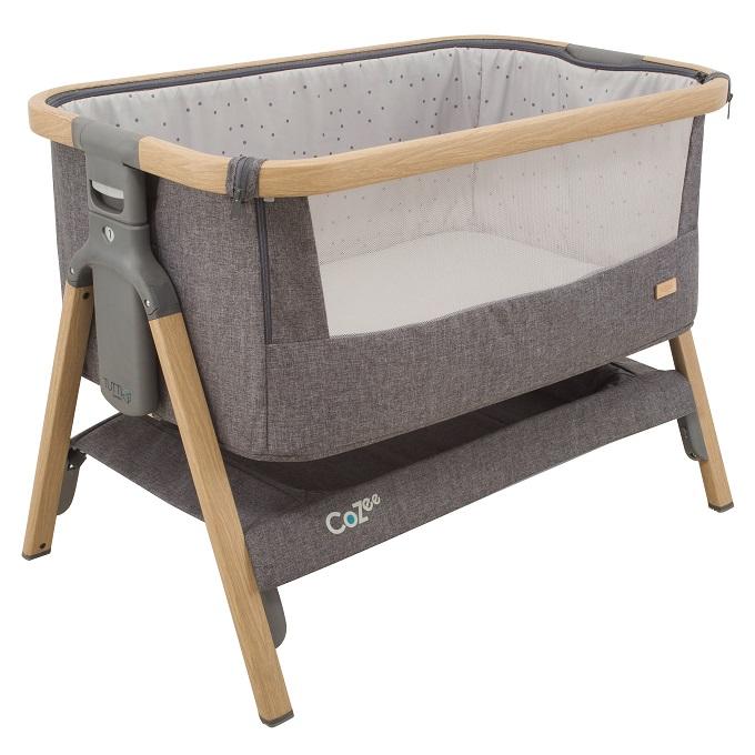 Tutti Bambini – patut 2 in 1 co-sleeper CoZee Oak imagine