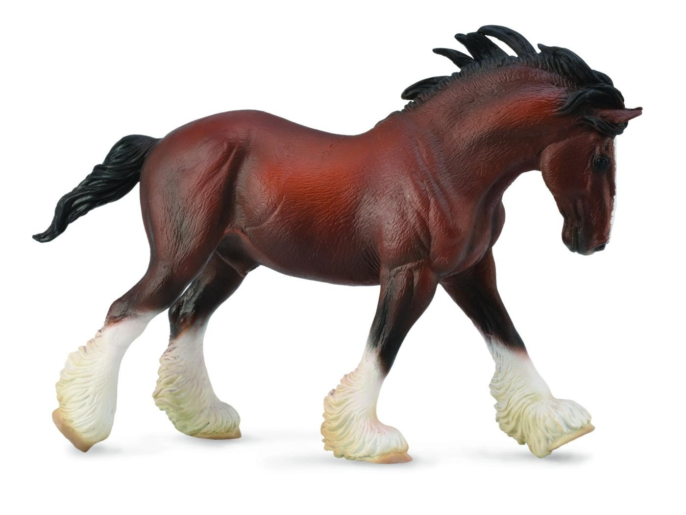Figurina Armasar Clydesdale
