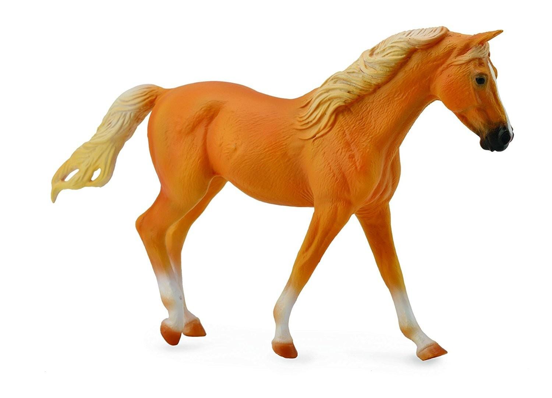 Figurina Cal Missouri Fox Trotter - auriu