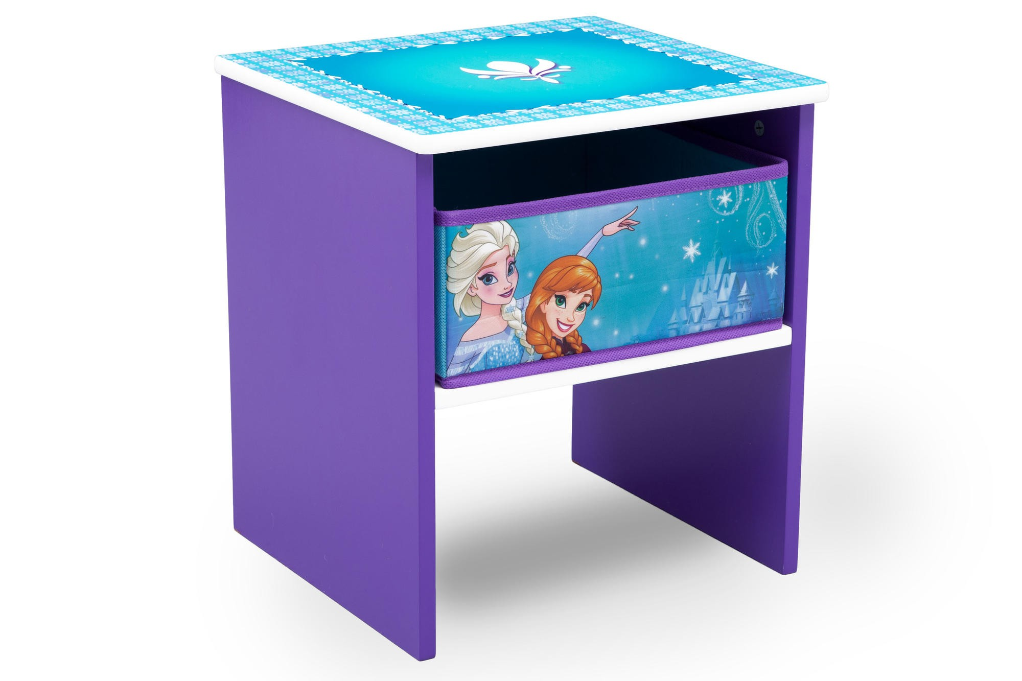 Noptiera cu cadru din lemn Disney Frozen