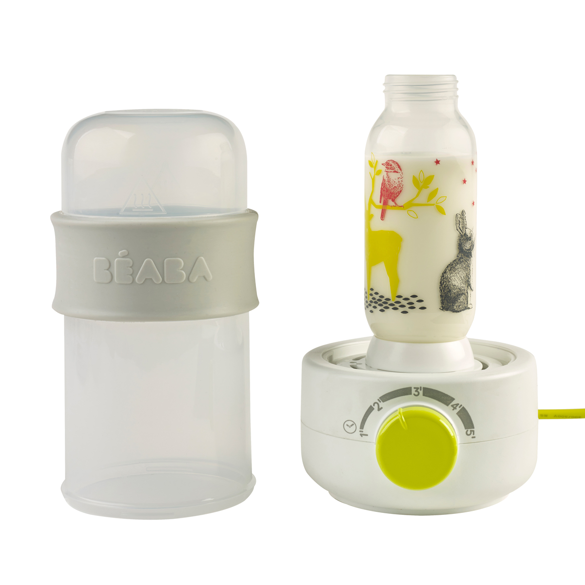 Incalzitor biberoane si sterilizator Baby Milk Secong Neon