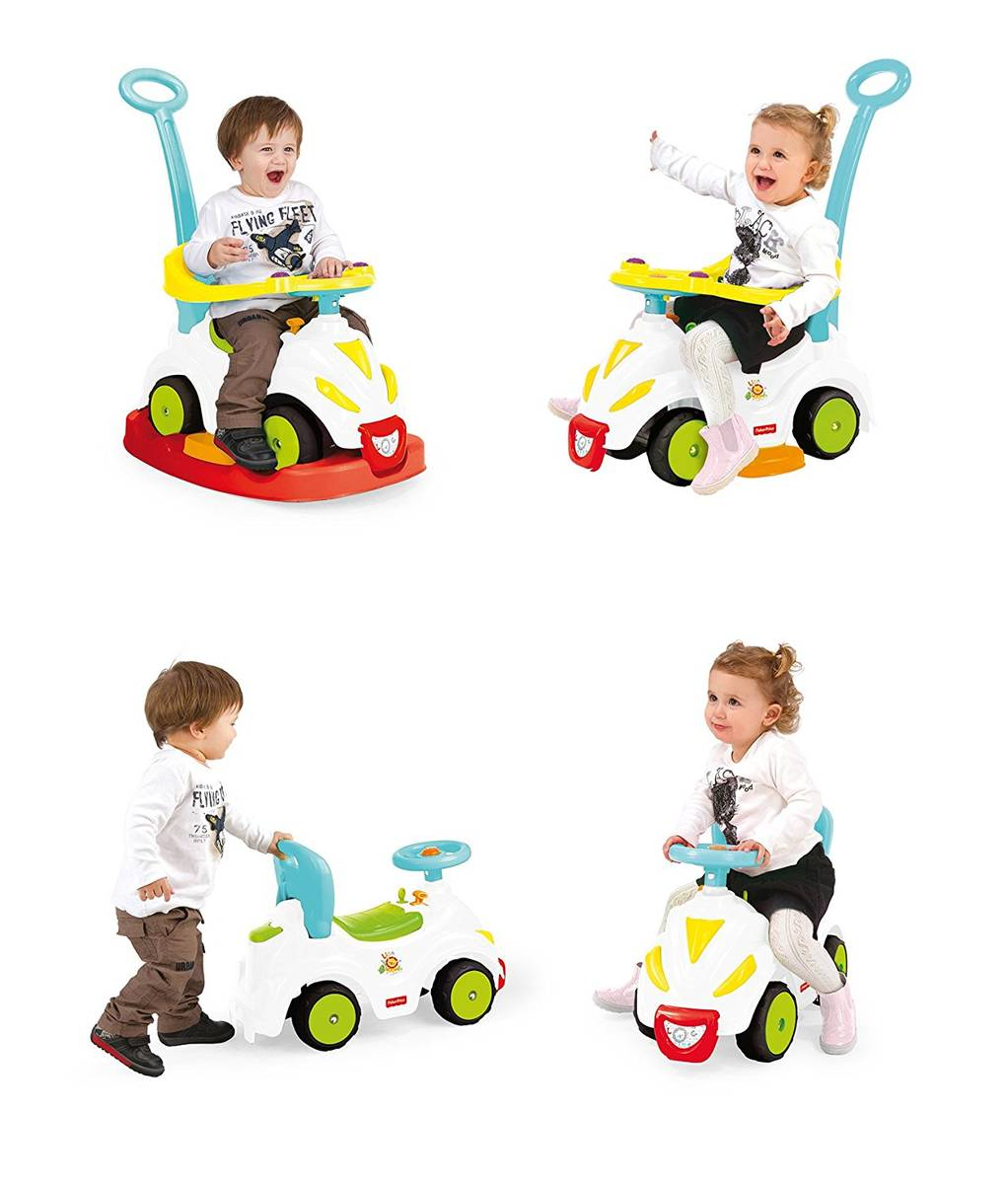 Masinuta 4 in 1 – Ride on rocker