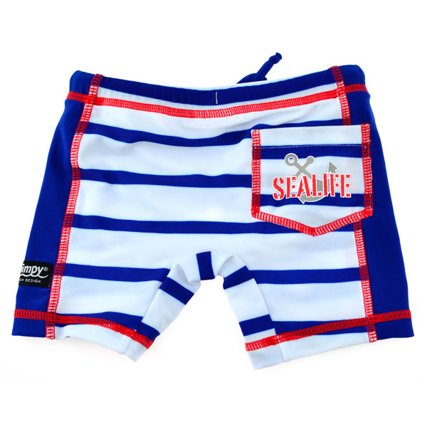 Boxer SeaLife blue marime XL Swimpy
