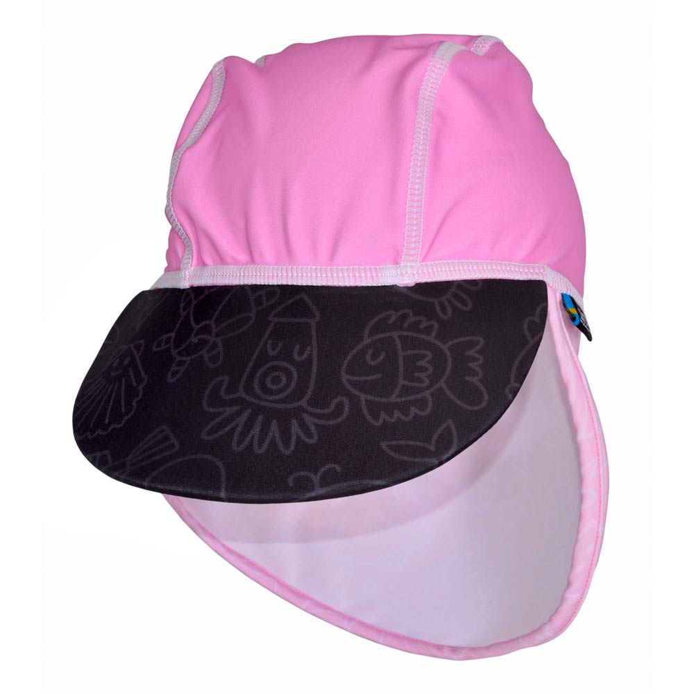 Sapca Pink Ocean 4-8 ani protectie UV Swimpy