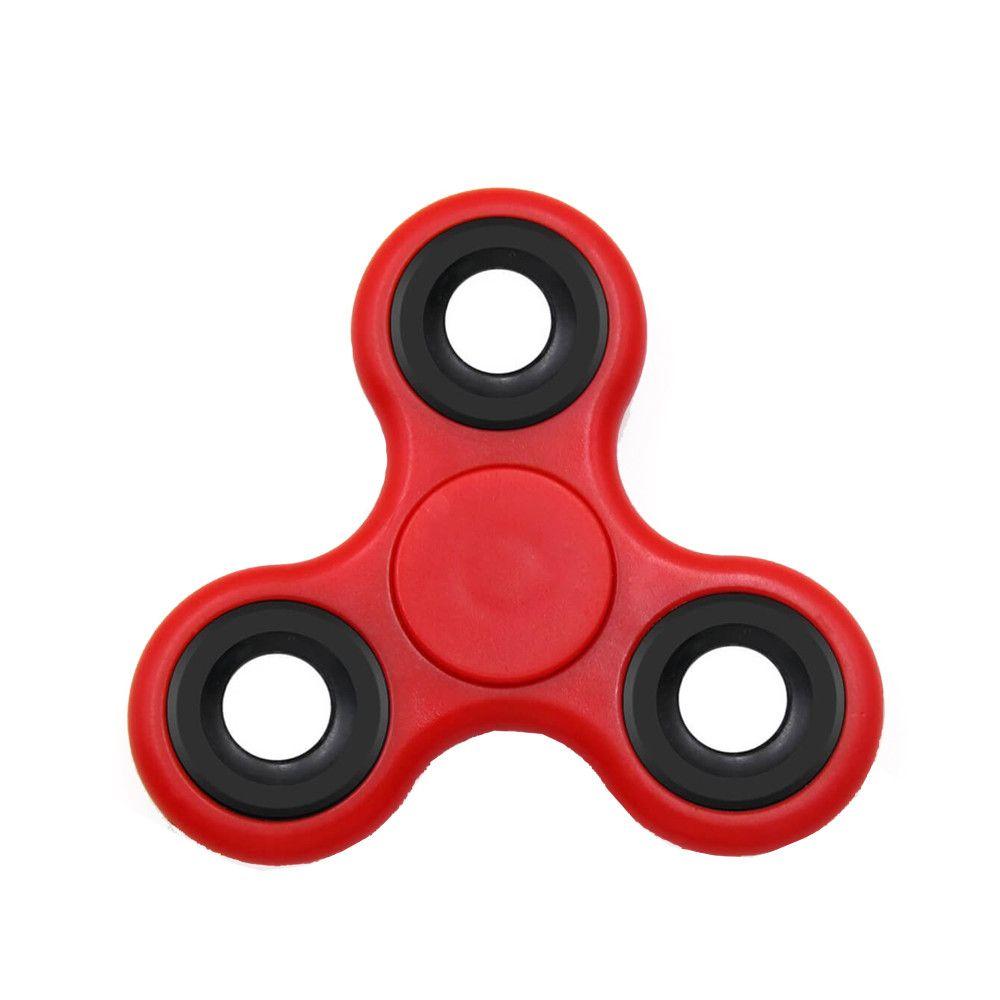 Jucarie anti-stres Fidget spinner, pentru copii si adulti - Rosu
