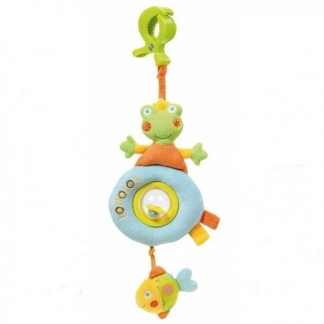 Arc Jucarie Vibratoare Broscuta Si Pestisori - Brevi Soft Toys