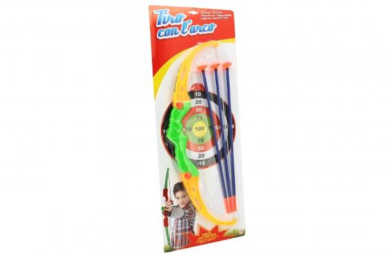 Arc cu sageti Globo pentru copii cu tinta