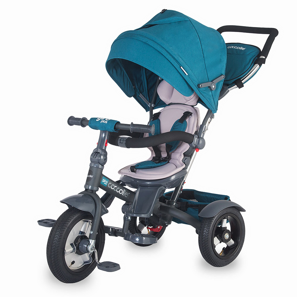 Tricicleta COCCOLLE Giro Plus multifunctionala albastru