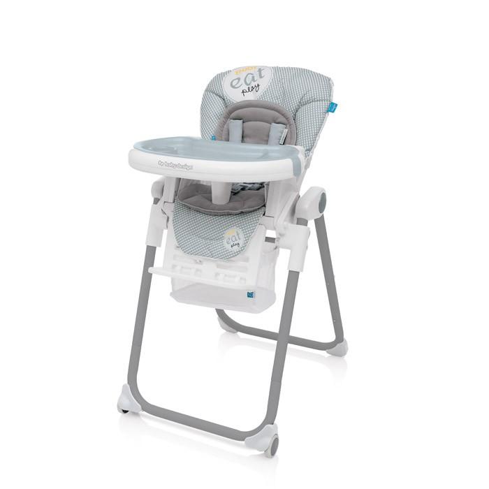 Baby Design Lolly 07 Grey 2017 - Scaun de masa