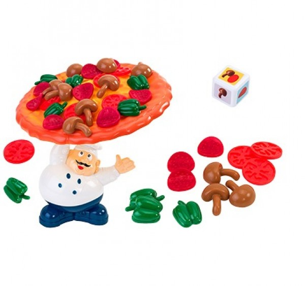 Joc de familie echilibru Pizza GLOBO