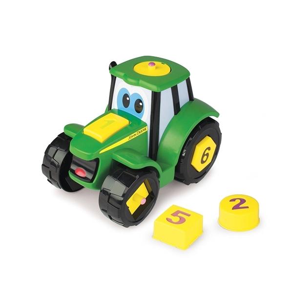 Tractoras joaca-te si invata -Biemme-46654-JOHNNY DEERE