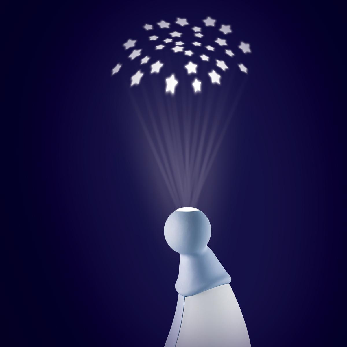 Lampa Pixie Str Gri/ Bleu