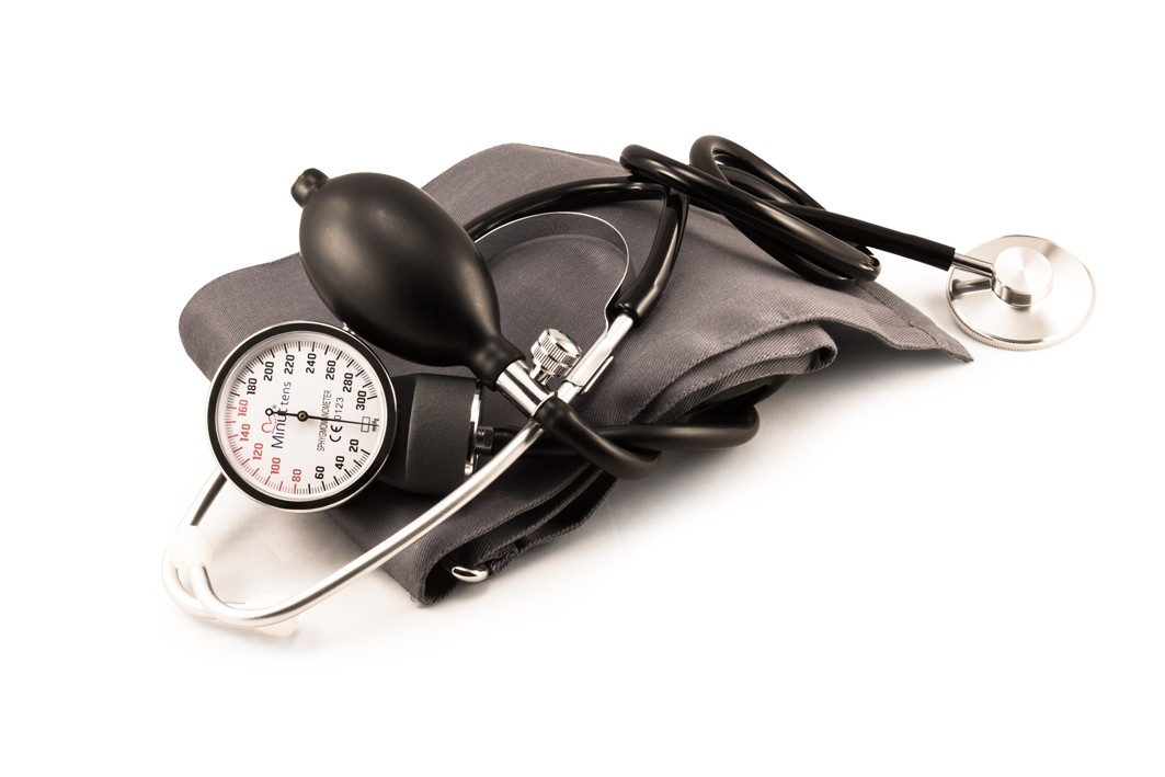 Tensiometru aneroid Minut cu stetoscop imagine