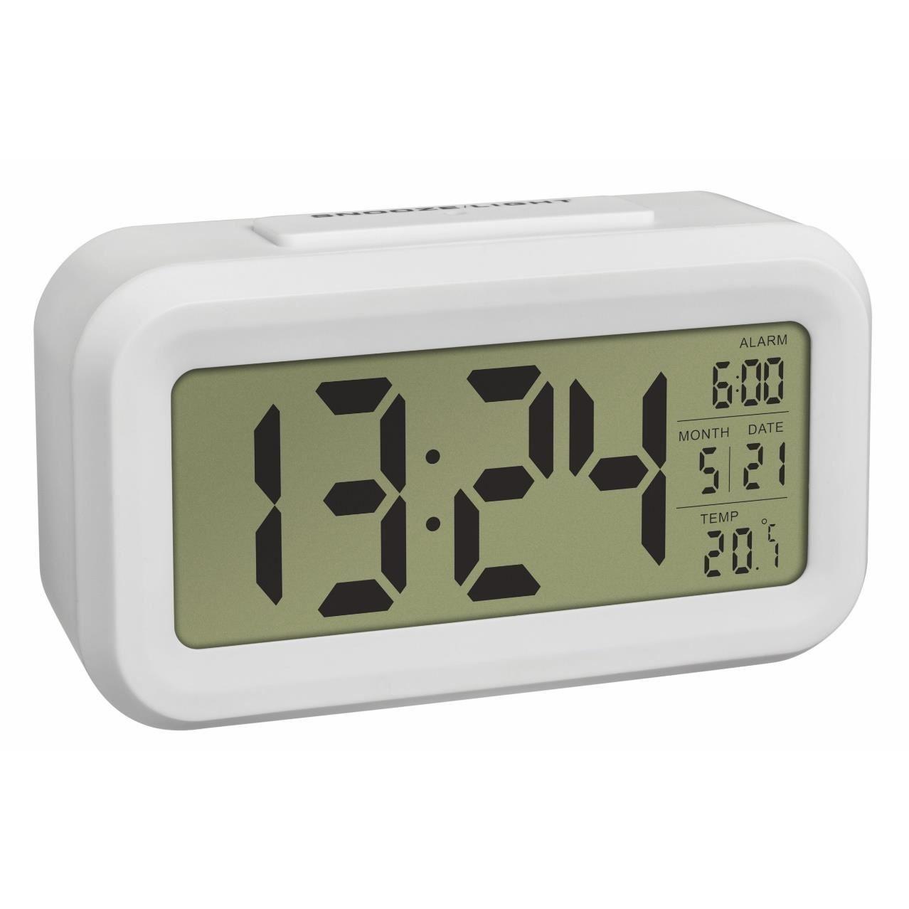 Termometru si ceas cu senzor de lumina TFA 60.2018.02 imagine