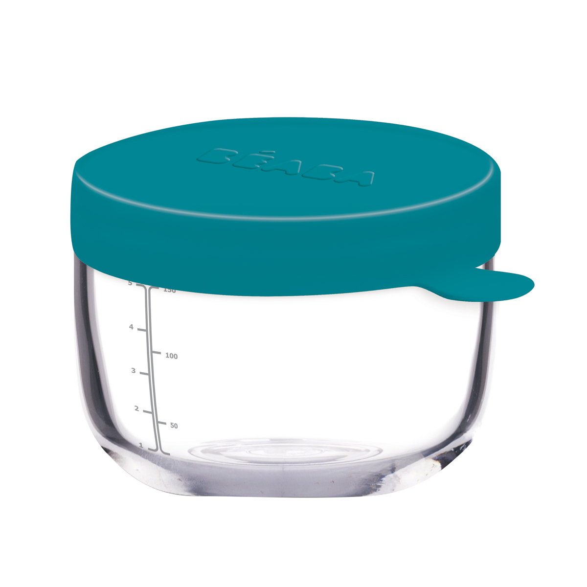 Set 2 recipiente ermetice sticla: 150ml Bleu si 250 ml Neon