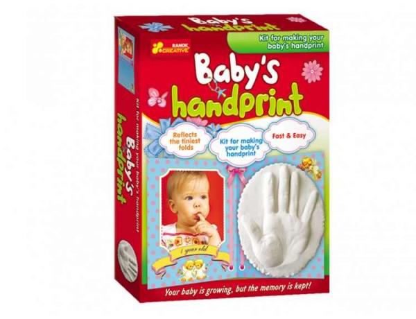 Joc pentru copii Amprenta mainii copilului RANOK imagine