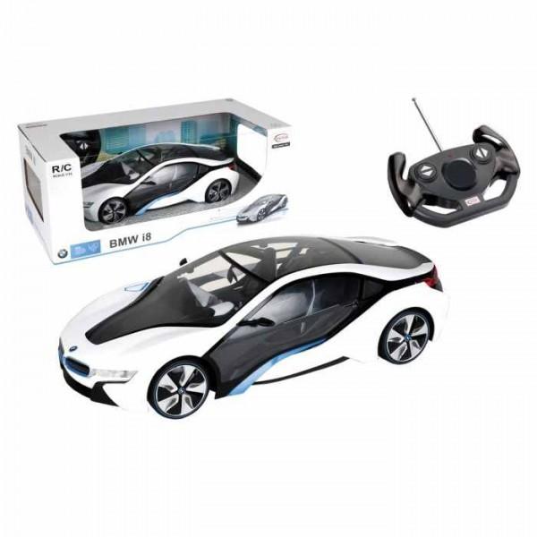 Masinuta BMW I8 radiocomanda Mondo pentru copii  scara 1:14