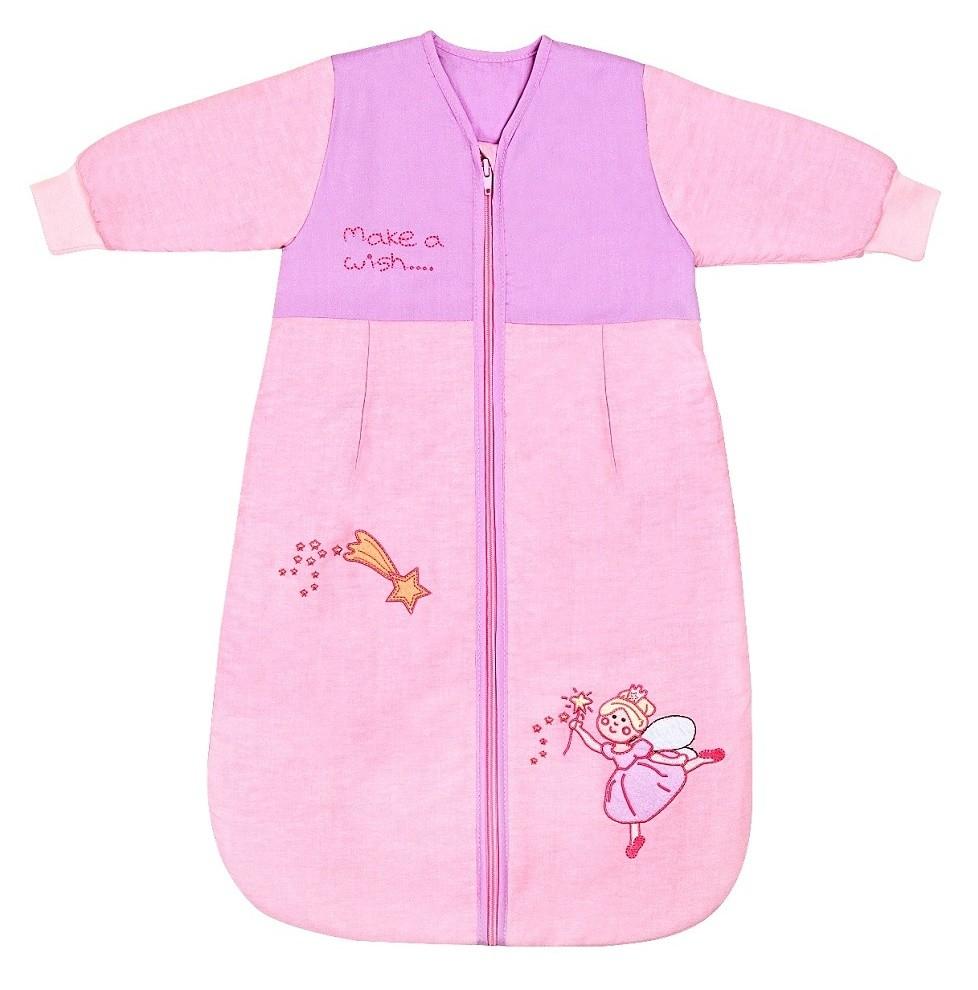 Sac de dormit cu maneca lunga Pink Fairy 1-3 ani 2.5 Tog