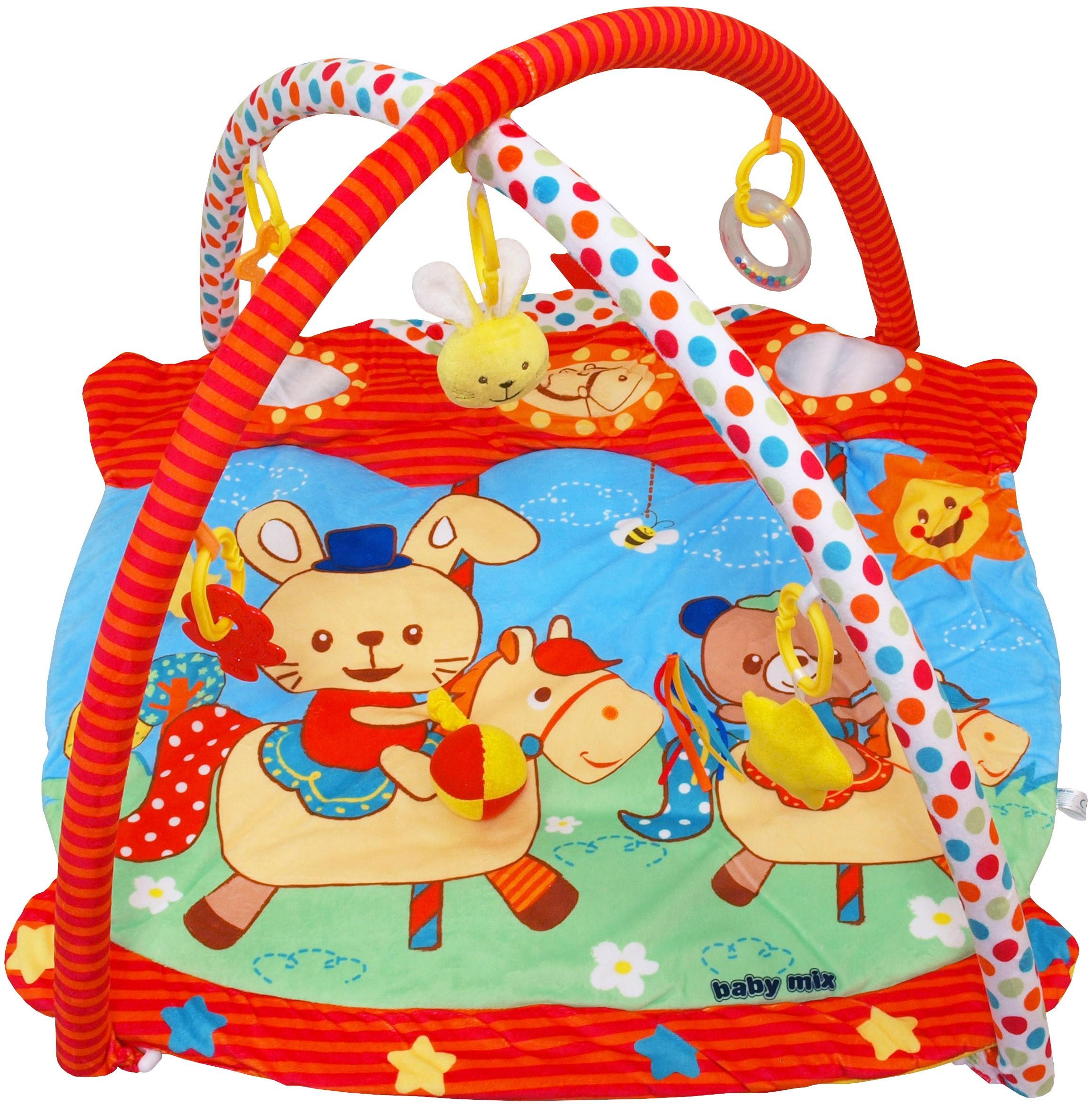 Saltea de joaca pentru copii Horse Carousel