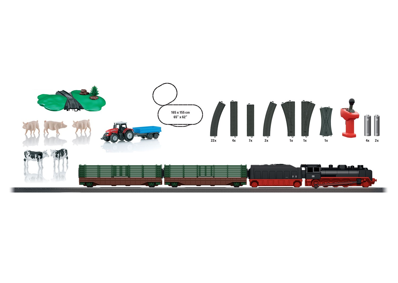 Tren de marfa cu telecomanda Farming Starter Set