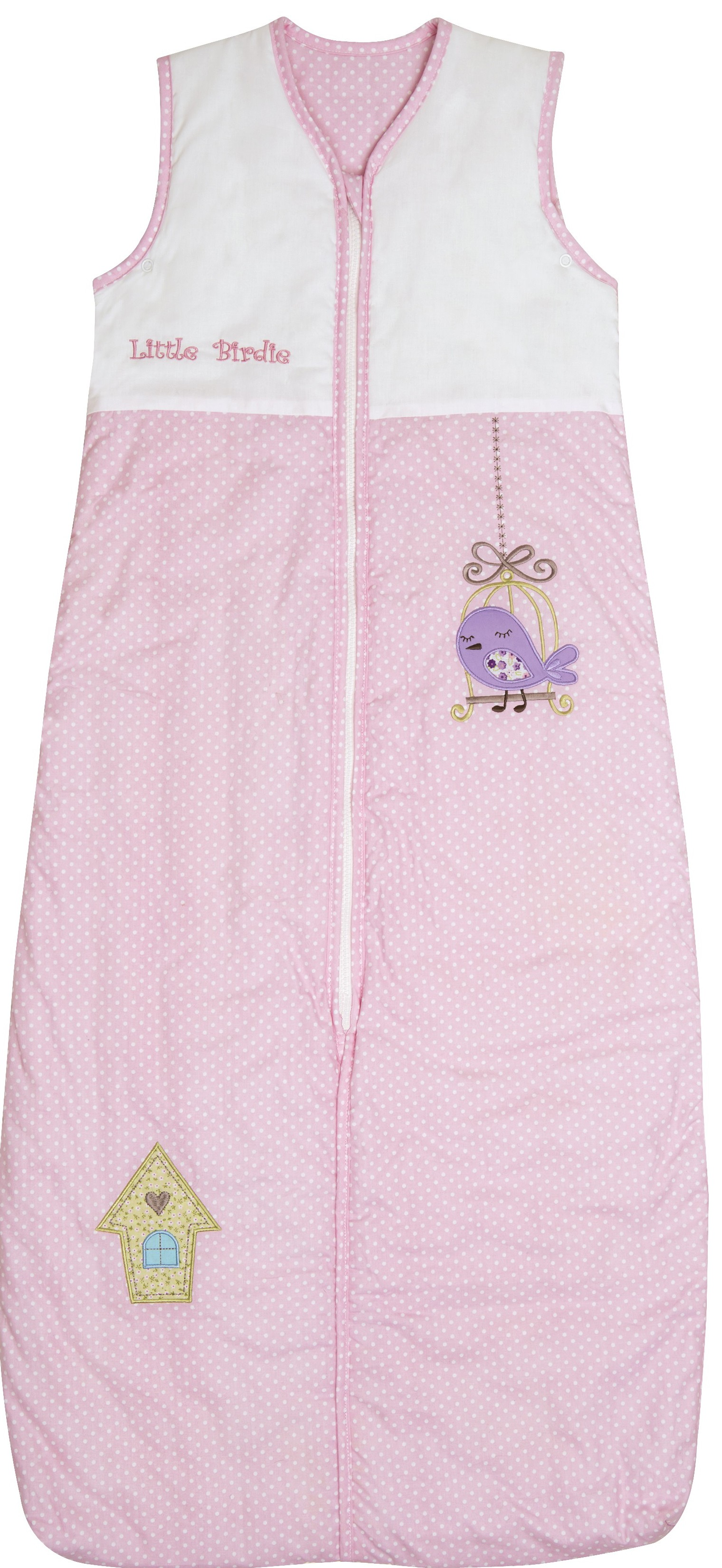 Sac de dormit Pink Bird 1-3 ani 2.5 Tog imagine