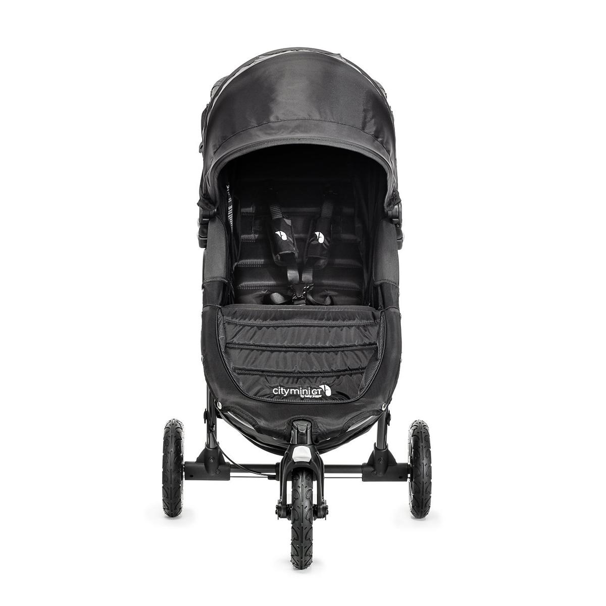 Carucior City Mini GT 3 Black sistem 2 in 1