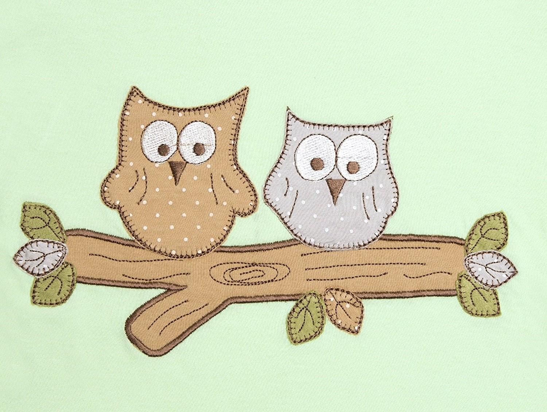 Sac de dormit Mint Owl 0-3 luni 2.5 Tog