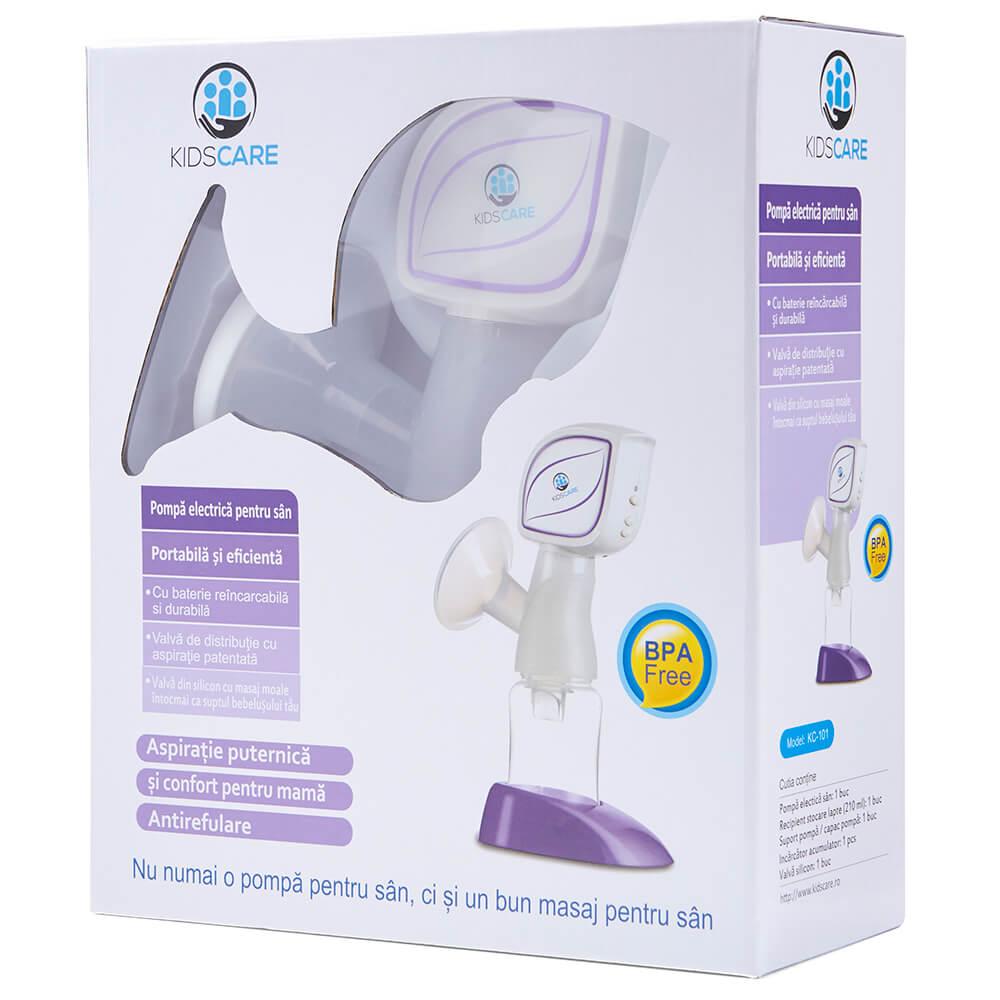 Pompa de san electrica portabila Kidscare KC101 imagine