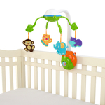 Bright Starts™-8352-carusel Soothing Safari 2 In 1 Mobile