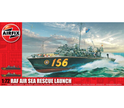 Airfix Air Sea Rescue Launch 1:72