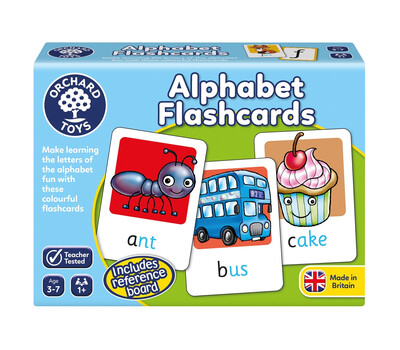 Joc Educativ In Limba Engleza Alphabet Flashcards